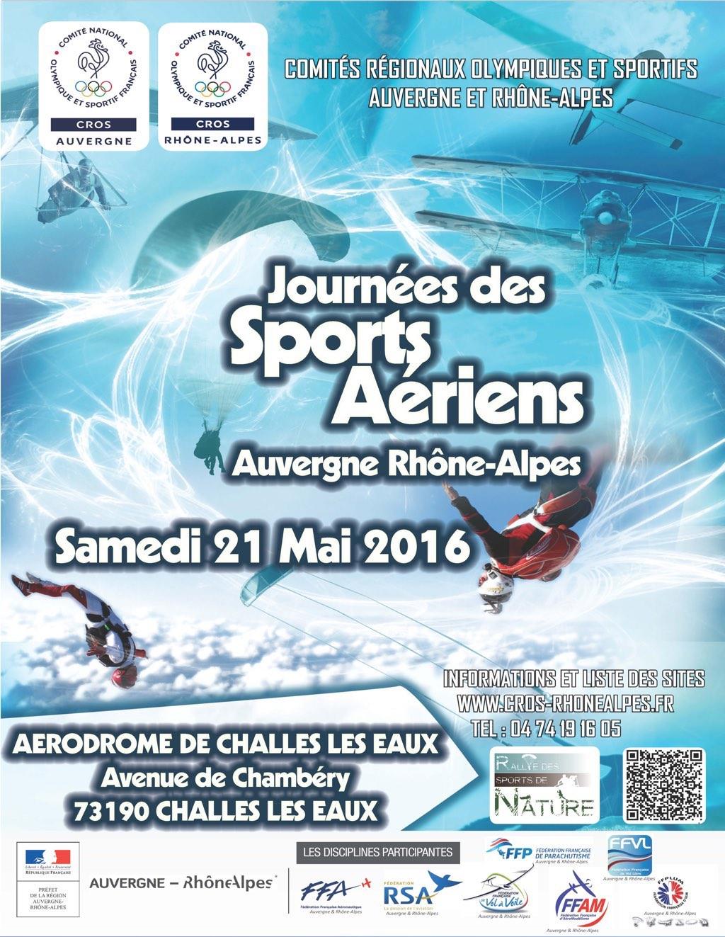 journées des sports aériens 2016