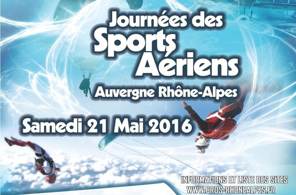 Journée Portes Ouvertes des Sports Aériens – 21 Mai 2016