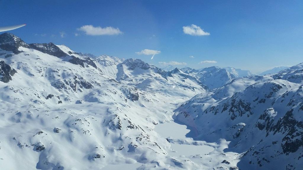 Vol sur nos belles montagnes…