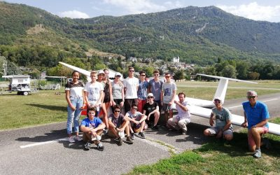 La section  aero au grand complet …